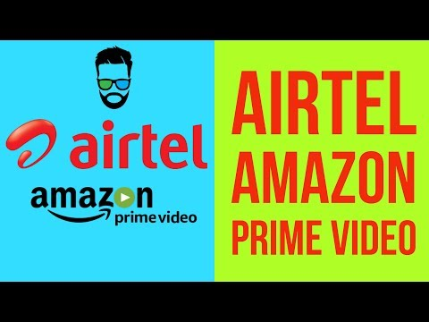 Airtel Amazon Prime Membership Offer | How to Avail Free Amazon Prime Membership with Airtel
