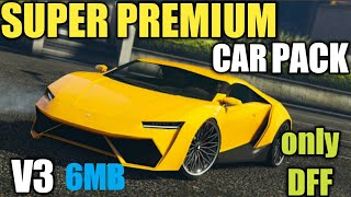 GTA SA ANDROID: 7 Cars Pack Dff Only No Txd With Bonus Car