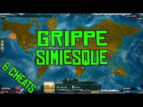 Plague Inc. Evolved Gameplay #40 Grippe Simiesque avec 6 Cheats! FR