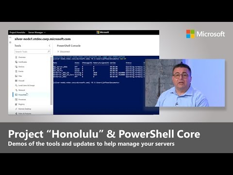 Updates to server management with the Windows Admin Center (formerly Honolulu) & PowerShell Core