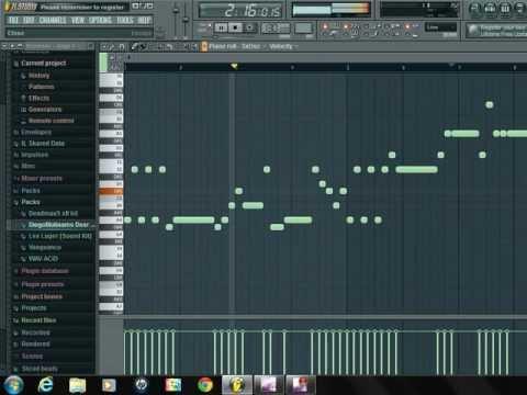 Avicii - X You Fl Studio Tutorial using 3xosc