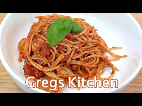 SALAMI PASTA RECIPE  - Greg's Kitchen