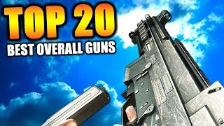 """Top 20 """"BEST GUNS"""" in COD HISTORY (Call of Duty)"""