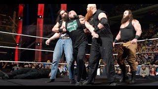 The Wyatt Family and Braun Strowman Attacks Brock Lesnar & Roman Reigns