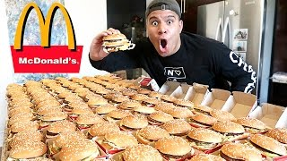 INSANE 100+ MCDONALD