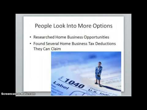Home Business Tax Deductions, Save Money Today 5 Simple Tax Deductions