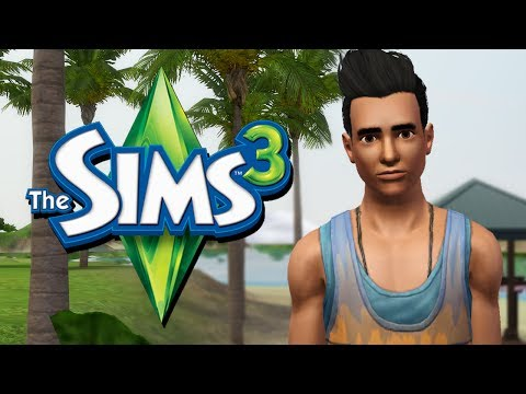 FIRST DATE! Werewolf in Paradise - The Sims 3 - Ep. 2