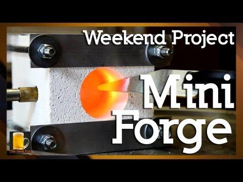 How to make a homemade Mini Forge