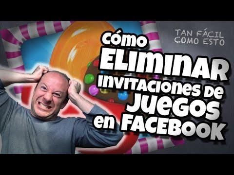 Cómo eliminar invitaciones de juegos en facebook