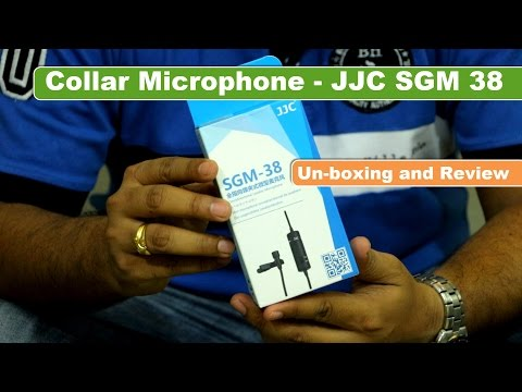 Collar Mic - Canon DSLR and other Camera | Review | JJC SGM - 38