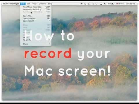 How to record your Mac screen - super simple (& free!)