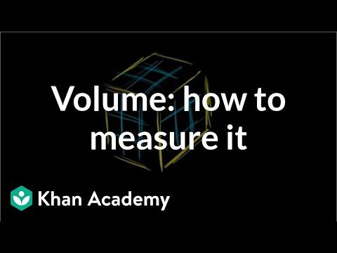 Volume: how to measure it | Measurement | Pre-Algebra | Khan Academy