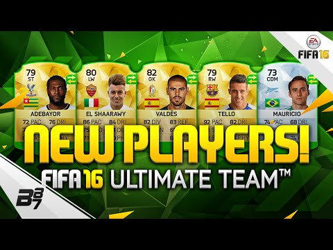 NEW PLAYERS IN FUT! w/ ROMA EL SHAARAWY AND BARCA TELLO! | FIFA 16 Ultimate Team