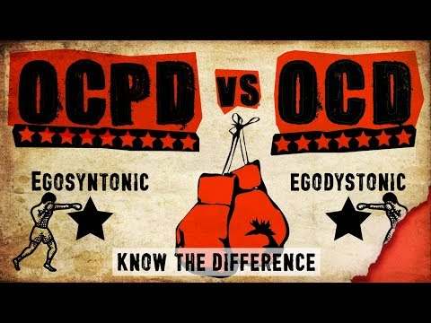 OCPD vs OCD (Know the difference)