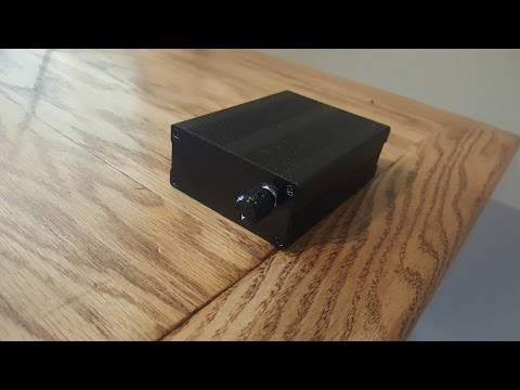 How to build an Amplifier for you Speakers!