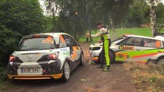 WRC ADAC Rallye Deutschland 2016 Highlights CRASH & Action - All Day´s