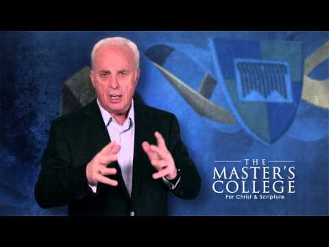 John MacArthur on Education - Cessation of Spiritual Gifts