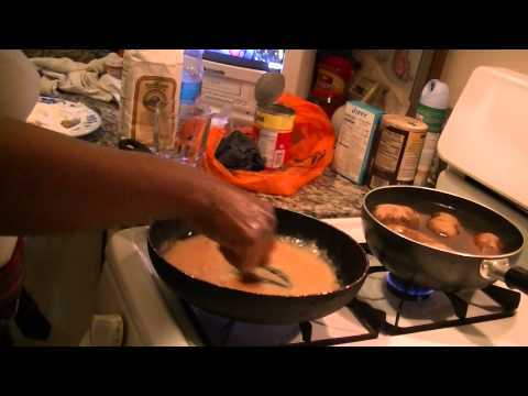 how mamma clown makes quick and easy Simple Brown Gravy Recipe
