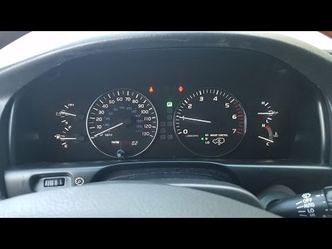 How to Remove Speedometer Cluster from Lexus LX470 2003 to 2007 for Repair.