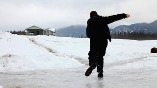 Why Do You Slip on Ice?