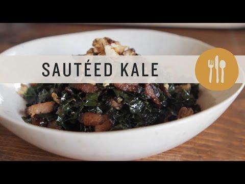 Superfoods - Sauteed Kale