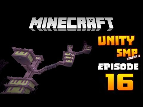RAIDING THE END CITY!! - UNITY SMP Season 2 Ep.16 - Minecraft PE (Pocket Edition)