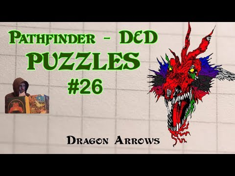 Pathfinder D&D Puzzles #26 - Dragon Arrows