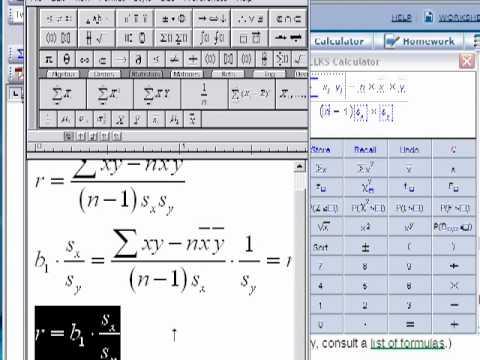 Computing the Sample Correlation Coefficient