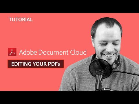 Acrobat DC Tips & Tricks with Chris Converse: Edit Your PDFs (Episode