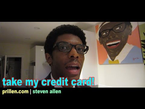 Take My Credit Card! | 06 November 2017