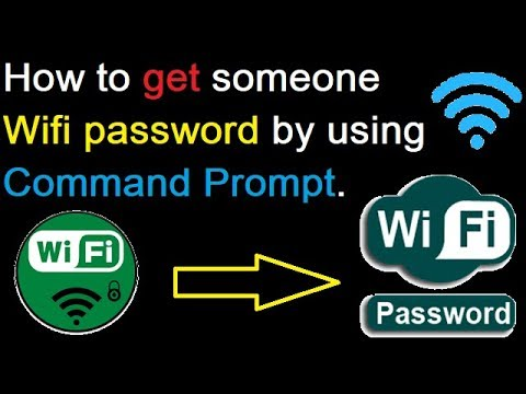 How to find Wifi password by using Command Prompt