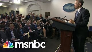 Obama Takes Questions From Women Only | Rachel Maddow | MSNBC