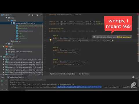 Spring Core: You First Spring Application | Spring Core - Masterclass