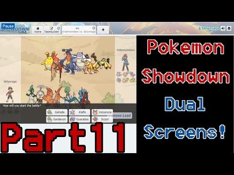 Pokemon Showdown ORAS OU | Battle 11 | MEGA GALLADE DUAL SCREENS