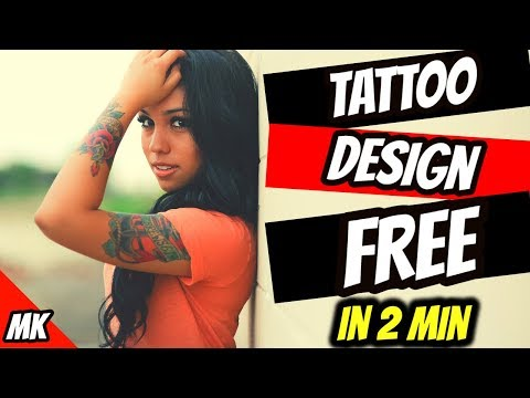Augmented Reality Ink Tattoo Designs Using Best Android Free Apps For Women and Men