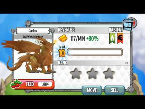 How to breed Red Woods Dragon 100% Real! Dragon City Mobile! wbangcaHD! [War Dragon]