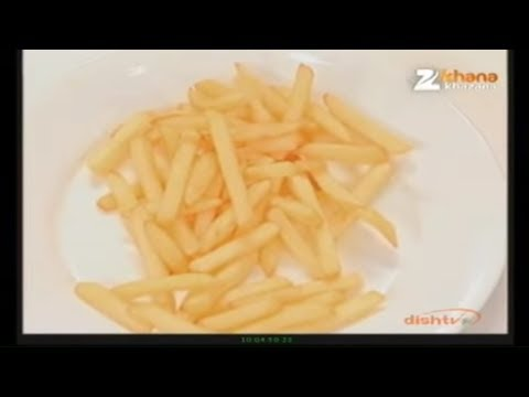 Frozen French Fries - Sanjeev Kapoor - Khana Khazana