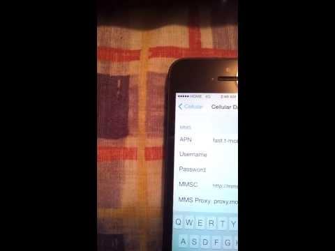iOS 7 APN Settings For Straight Talk Data & MMS
