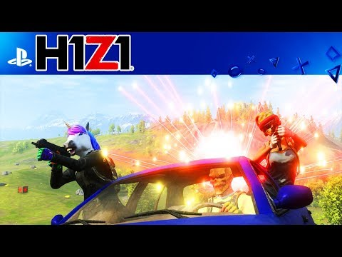 H1Z1 Playstation 4 Beta GAMEPLAY! H1Z1 PS4 SQUADS GAMEPLAY!