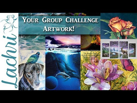 Your Group Art Challenge paintings & drawings! - Lachri