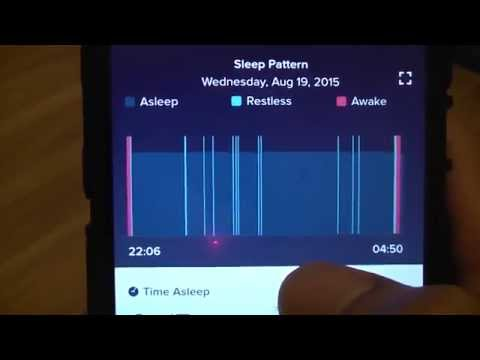 Fitbit Charge Sleep Recording Accuracy
