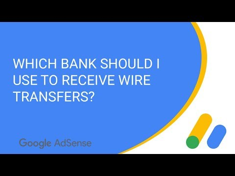 Which bank should I use to receive wire transfers?