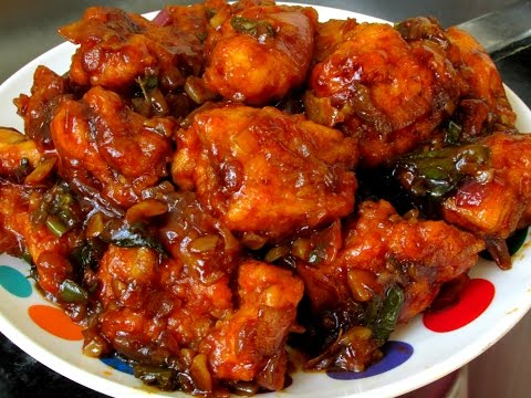 Street Chilli Chicken Dry Recipe by Lalit | How to Make Chilli Chicken at Home | Chilli Chicken