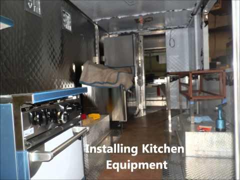 Building Food Truck Mobile Kitchen