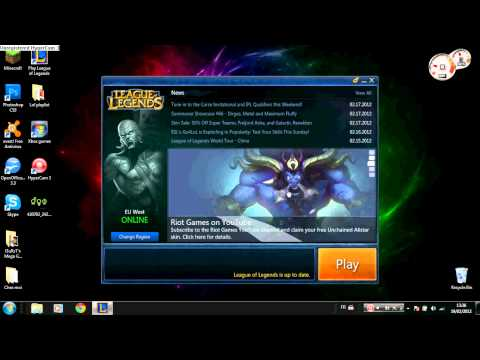 Lol - How to get Alistar for free (With free skin)