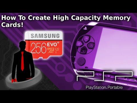 Create High Capacity PSP Memory Sticks! (Mod The PSP)