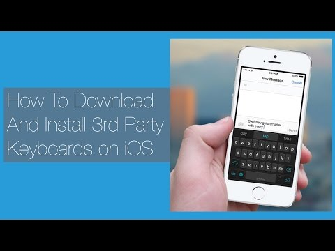 How To Download & Install Third Party Keyboards on iOS 8 (Swiftkey, Minuum, Swype, etc)