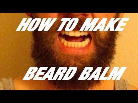How to make beard balm-easy step by step recipe