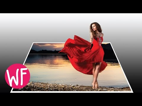 Photoshop Tutorial | How to Make a 3D Pop Out Photo Effect