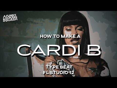[FL Studio 12 Tutorial] How to make a CARDI B type beat